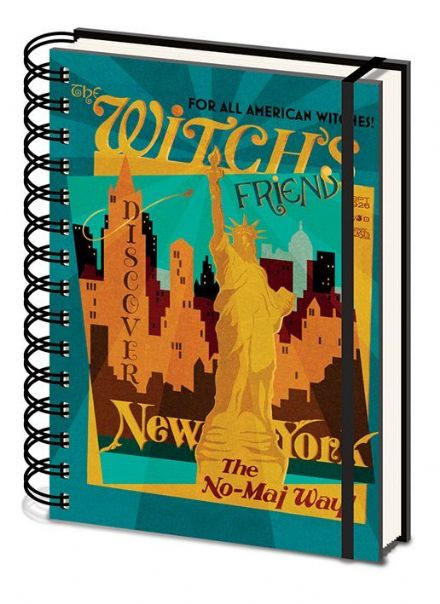 Fantastic Beasts The Witchs Friend A5 Wiro Notebook
